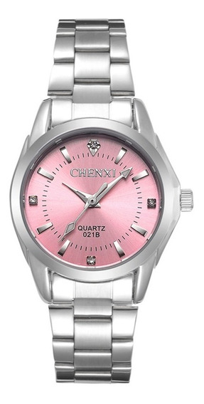 Chenxi 021b Imitação De Diamante Moda Mulheres Relógios De A
