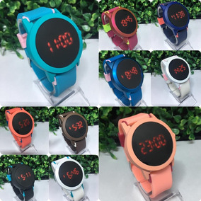 Kit Relógio Feminino Digital +caixa +pulseira