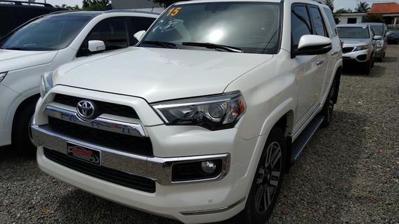 Toyota 4runner Limited Blanca 3 Filas 2015