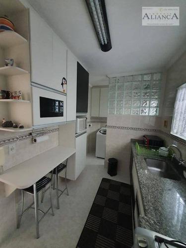 Apartamento Com 3 Dormitórios À Venda, 75 M² Por R$ 340.000,00 - Assunção - São Bernardo Do Campo/sp - Ap2138
