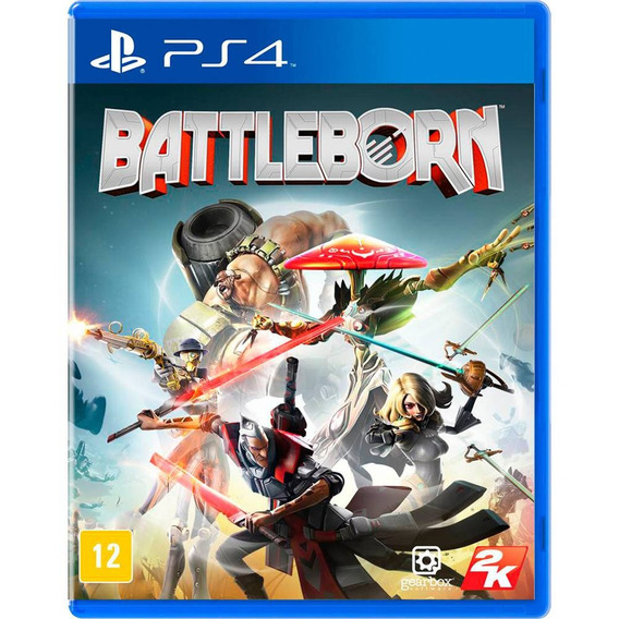 Jogo Battleborn Ps4 Game Original Novo E Lacrado Blu-ray Top