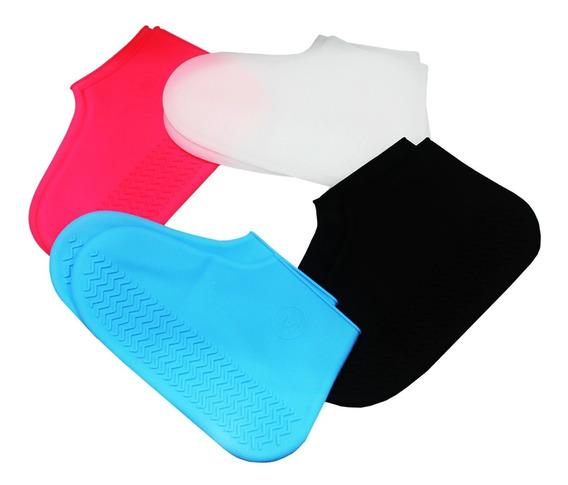 Protetor De Sapato De Silicone Impermeável Para Chuva Haiz