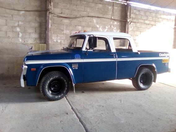 Dodge 100, V8
