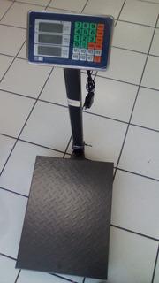 Bascula Digital De Plataforma 600kg Uso Rudo