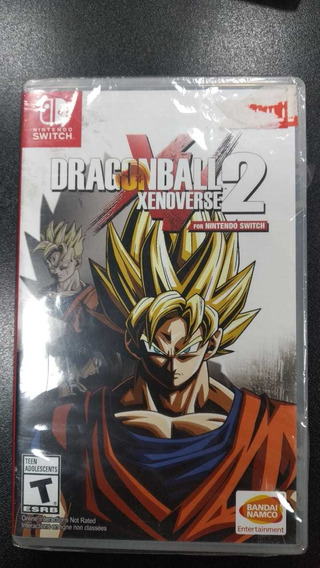 Dragon Ball Xenoverse 2 Nintendo Switch Lacrado