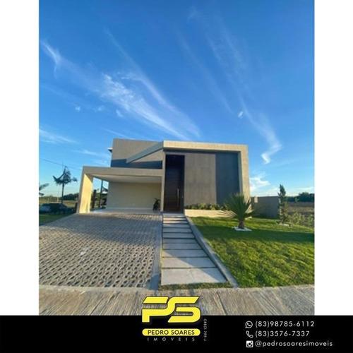 Casa Com 4 Dormitórios À Venda, 348 M² Por R$ 1.249.000 - Bayeux - Bayeux/pb - Ca0895