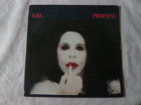 Lp Gal Costa 1984 Profana, Disco De Vinil Com Encarte