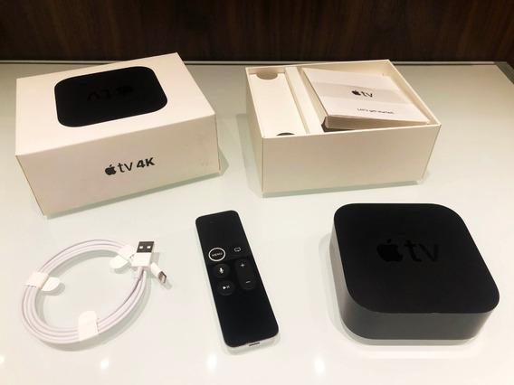 Apple Tv 4k 32gb Seminovo Com Caixa E Manual
