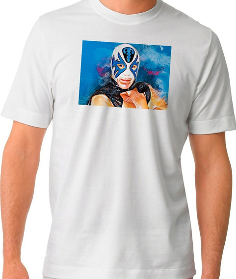 Playera Atlantis Lucha Libre Mascara Wrestling Camiset 02-91