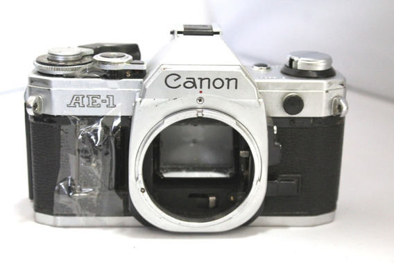 Câmera Fotografica Canon Ae-1 Ae1 Coleção Retirada De Peças