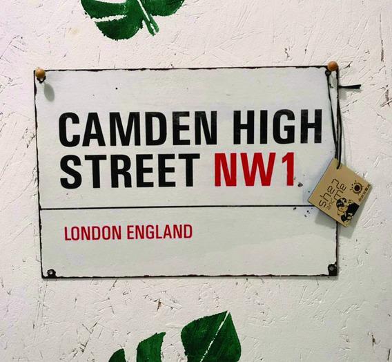 Carteles Calles De Londres En Chapa Personalizados