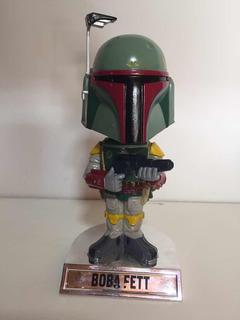 Boba Fett Funko Bobble Head Star Wars Original Caja