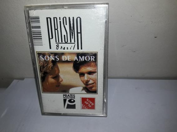 Fita K7 Prisma Brasil Sons De Amor Play Back