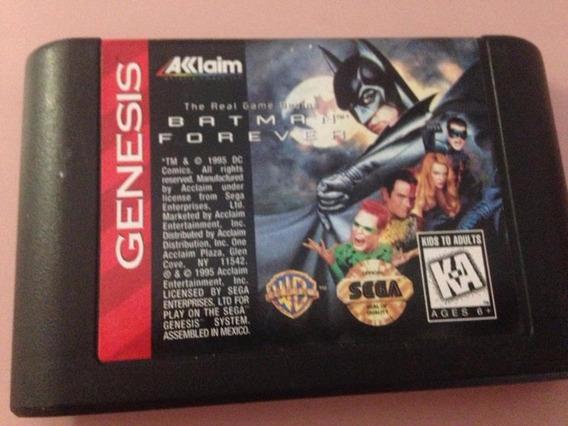 Batman Forever Cartucho Sega Genesis Mega Drive Original 199