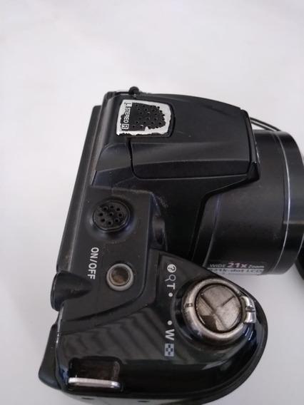 Camera Nikon Coolpix L120 + Cartão 4g