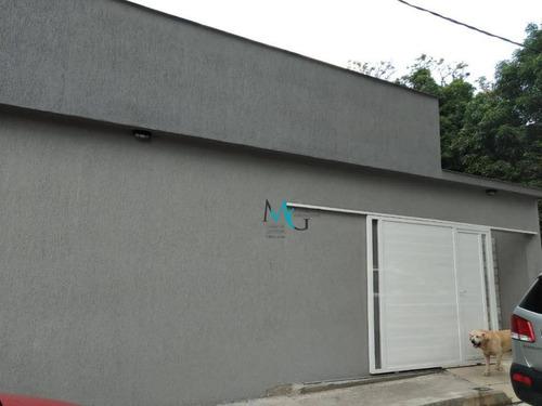 Casa Com 3 Dormitórios À Venda, 196 M² Por R$ 450.000,00 - Campo Grande - Rio De Janeiro/rj - Ca0649