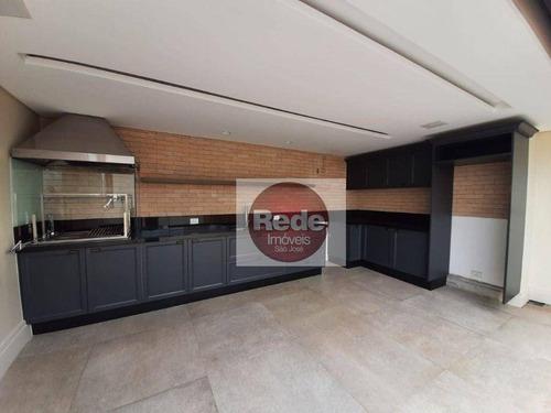 Cobertura À Venda, 294 M² Por R$ 1.600.000,00 - Vila Ema - São José Dos Campos/sp - Co0162