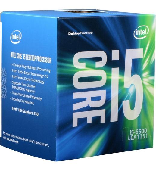 Core I5 6500 1151 3.2 Hd Graphics 530 Oem Em 12x Sem Juros