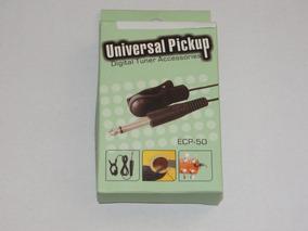 Captador Universal P10 Com Clip Para Afinadores Eletrônicos
