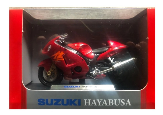 Colecc. Motos De Leyenda Suzuki Hayabusa. Esc. 1/18