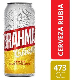 Cerveza Brahma Lata 473cc Pallet