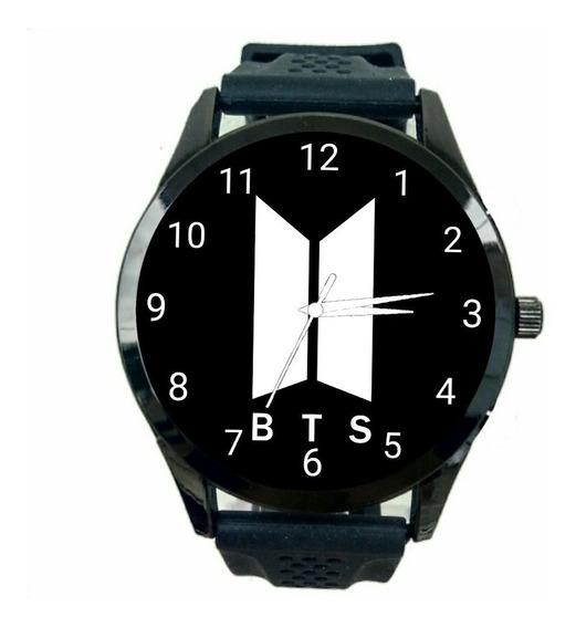 Relógio Bts K Pop Feminino Promoção Oferta Novo Personalizado Lindo T195