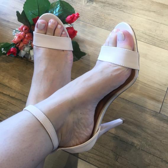 Sandália Salto Alto Fino Santa Liz Luxo Confort Sf