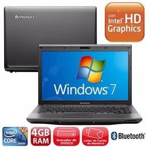 Notebook Lenovo G460 Com Intel®