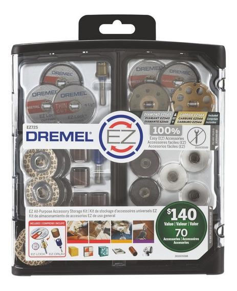 Mega Kit Ez-lock 70 Acc Dremel