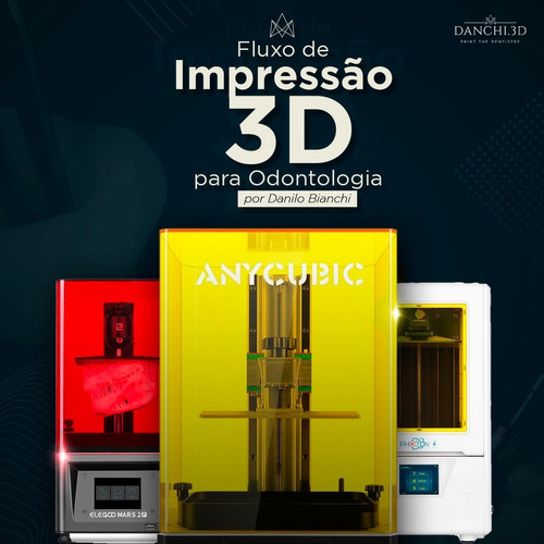 Imagem 1 de 4 de Curso - Impressão 3d Para Odontologia