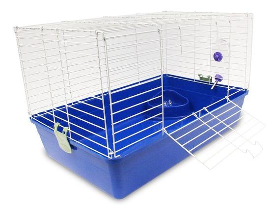 Jaula Habitat Casa Amsterdam Para Hurón O Conejo 65x45x43
