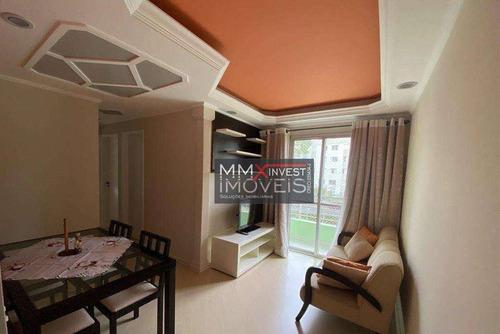 Imagem 1 de 20 de Apartamento Com 3 Dormitórios À Venda, 60 M² Por R$ 372.000,00 - Cachoeirinha - São Paulo/sp - Ap0892