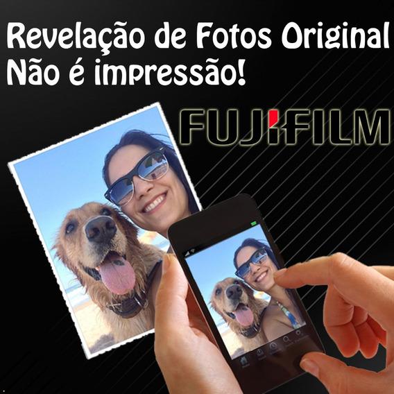 Revelação 100 Fotos 10x15 Qualidade Fujifilm Frete Grátis