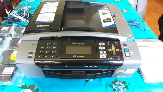 Impressora Multifuncional Colorida Brother Wi-fi Semi-nova