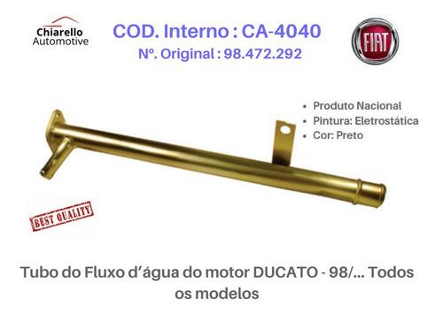 Tubo Cano Da Agua Do Motor Ducato - 98/... Todos