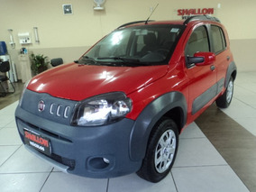 Fiat Uno 1.0 Way Flex 5p 2014/2014 Vermelho
