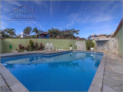 Imagem 1 de 14 de Casa Com 2 Suítes Em Village No Maitinga Em Bertioga - Cc00181 - 69806934
