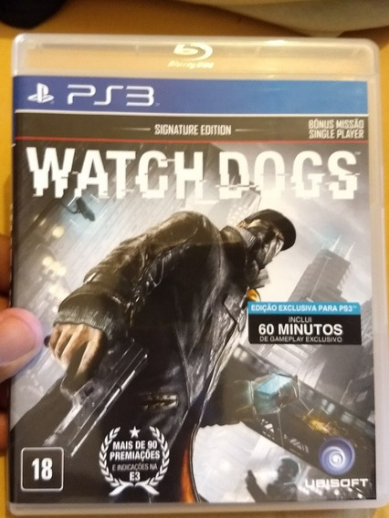 Watchdogs - Ps3 Usado