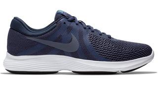 Tênis Nike Revolution 4 Azul/cinza Schuh Haus 10328 Running