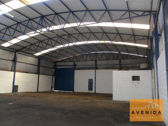 Barracão Industrial Para Venda E Locação, Santa Terezinha, Paulínia. - Ba0028