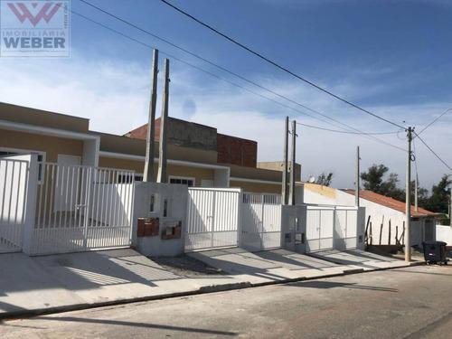 Casas Novas No Jardim Dos Eucaliptos - R$144.000,00 - 1198