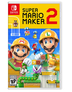 Super Mario Maker 2 Nintendo Switch. Fisico. Español