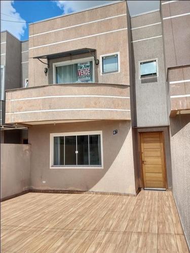 Imagem 1 de 25 de Sobrado Com 3 Dormitórios À Venda, 92 M² Por R$ 300.000,00 - Vila Ana Rita - Ponta Grossa/pr - So0166