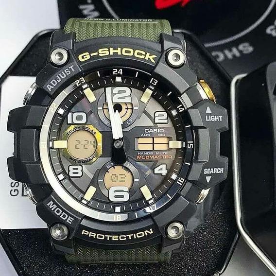 Relógio G-shock Mudmaster Gsg-100-1a3dr Edição Limitada