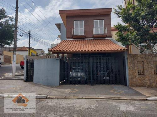 Imagem 1 de 17 de Sobrado Com 3 Dormitórios, 205 M² - Venda Por R$ 900.000,00 Ou Aluguel Por R$ 3.800,00/mês - Vila Aricanduva - São Paulo/sp - So0170
