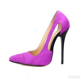 9aacafecd Sapatos Femininos Salto Alto Importados - Sapatos Magenta no Mercado ...