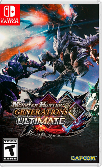 ..:: Monster Hunter Generations Ultimate ::.. De Switch
