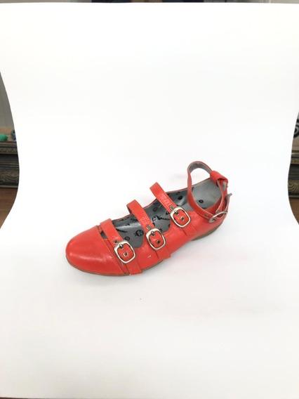 Zapatos De Cuero Correlola, 9817 Naranja