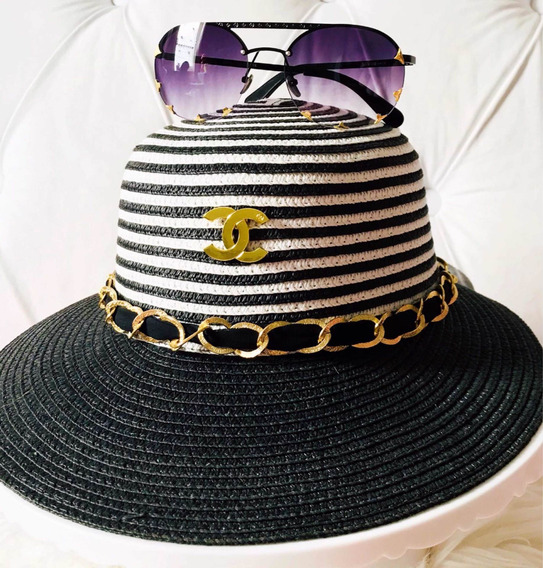Óculos De Sol Louis Vuitton Com Chapéu Ch