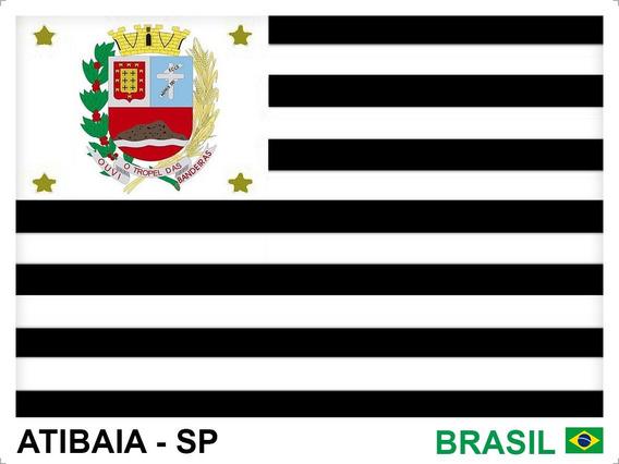 Adesivo Bandeiras 15 Cidades Do Estado São Paulo 10 X 7,5 Cm
